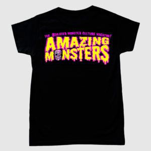 Camiseta del logotipo de Amazing Monsters